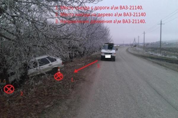 НаСтаврополье выпавший изиномарки груз спровоцировал трагедию