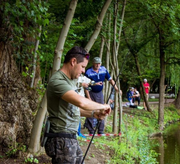 В одном из городов Ставрополья прошли соревнования рыбаков