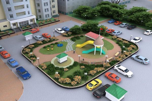 Ставрополье получит 609 млн руб. наблагоустройство дворов