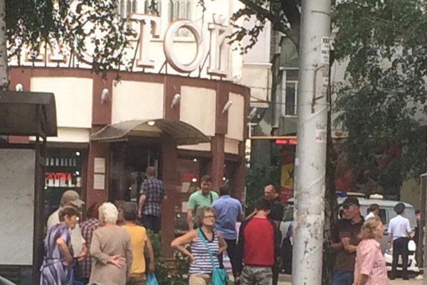 Пострадали двое ставропольских полицейских иохранник— Налет наювелирный