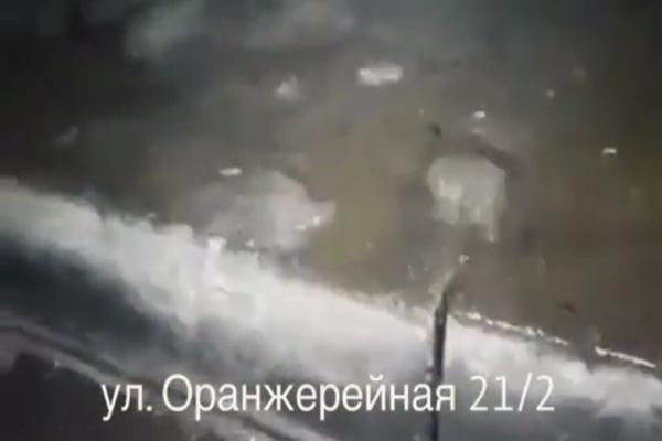 Дом затопило ночью вПятигорске