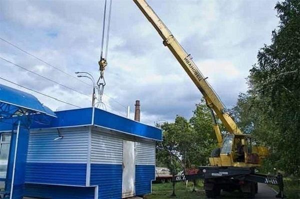 ВСтаврополе в текущем 2017г. демонтировали 76 незаконных торговых объектов
