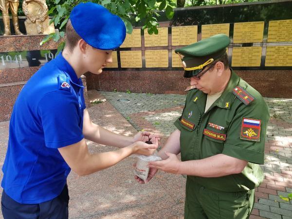 Один из городов Ставрополья присоединился к акции «Горсть земли»