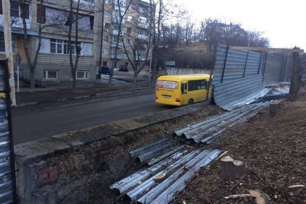 ВКисловодске прекращено строительство магазина около санатория