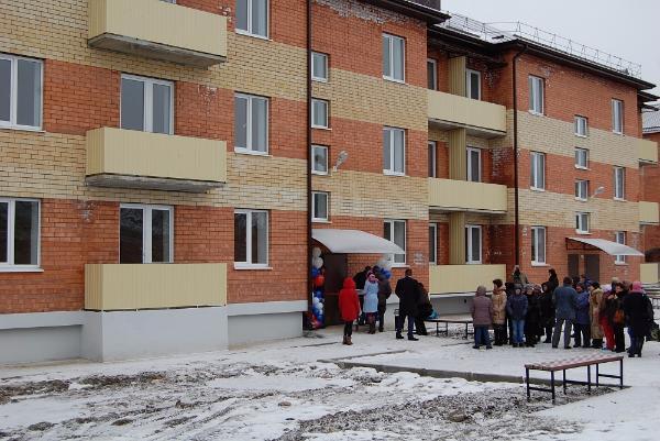 ВГеоргиевске «аварийщиков» переселили в23 новых квартиры