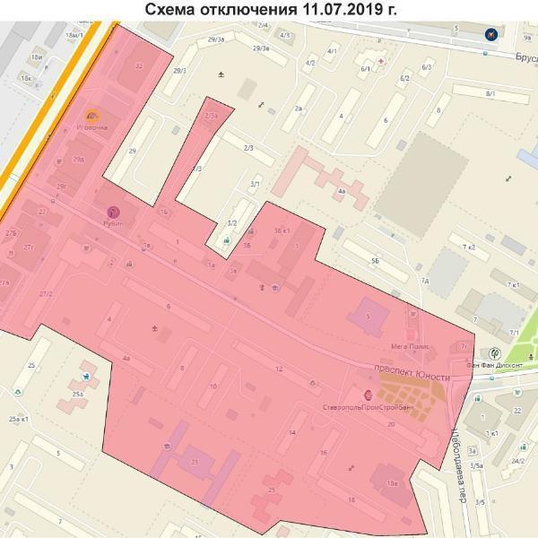 Северный район Ставрополя 11 июля будет без воды