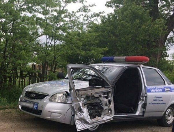 Серьезные последствия резонансного ДТП с «Газелью» и машиной ДПС в Ставропольском крае попали на видео