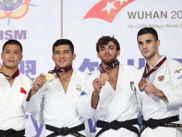 Дзюдоист из Пятигорска вошел в тройку лидеров на Всемирных военных играх в Китае