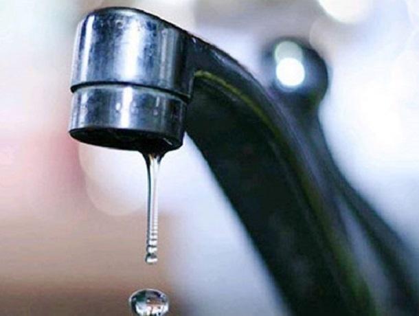 Плановое отключение воды в Ставрополе начнется 18 апреля и закончится в сентябре