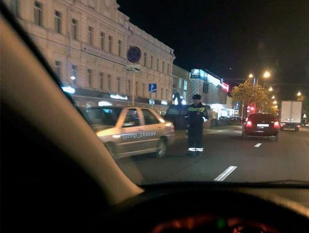 «Встречка» в центре Ставрополя шокировала сотрудника ГАИ