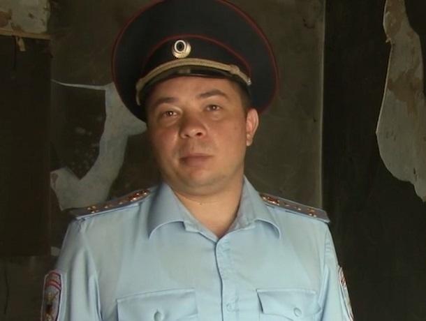 Ставропольский участковый героически спас пенсионера из горящего дома