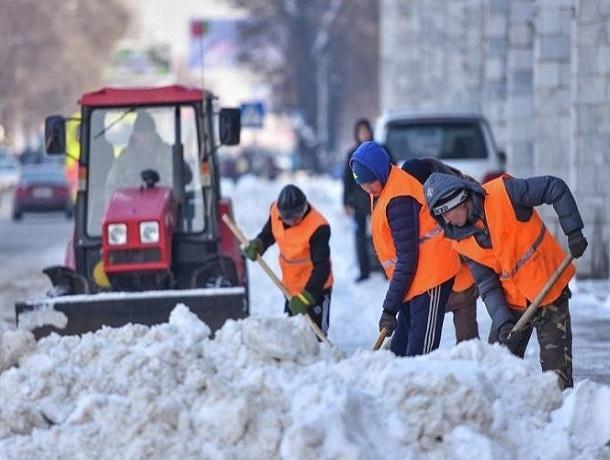 За заваленные снегом платные парковки будут штрафовать в Ставрополе
