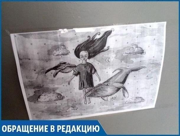Жители Ставрополя обеспокоены появлением в городе знаков «Синего кита»