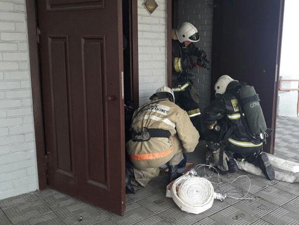 258 человек эвакуировали из горящей школы на Ставрополье