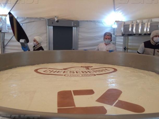 Чизкейк, приготовленный послучаю 240-летия Ставрополя, занесен вкнигу рекордов Гиннеса