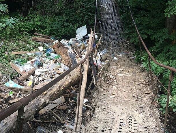 «Мост опасный, каждый день там ходят дети», - жители Ставрополя просят администрацию о помощи