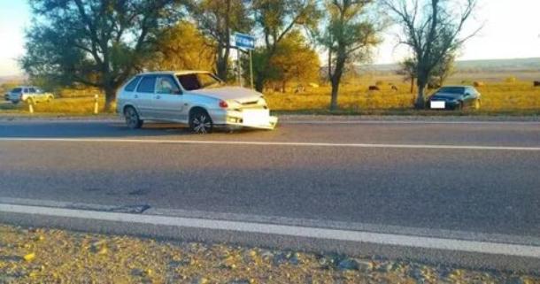 Из-за действий водителя иномарки в ДТП на Ставрополье пострадали 4 человека