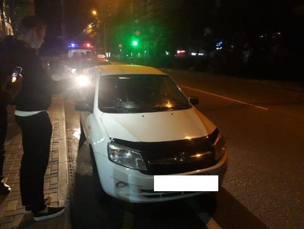 В Ставрополе водитель на пешеходном переходе сбил двух девушек
