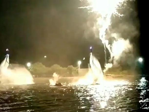 Cложные трюки над водой показали флайбордисты в Железноводске