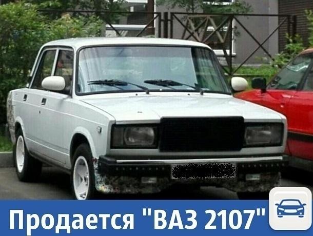 Частные объявления: Продается «ВАЗ 2107»