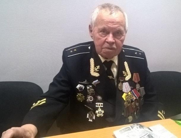 - Стало действительно страшно, когда нашу подлодку протаранили, - ставрополец Виктор Павлючук о службе на флоте в годы ВОВ