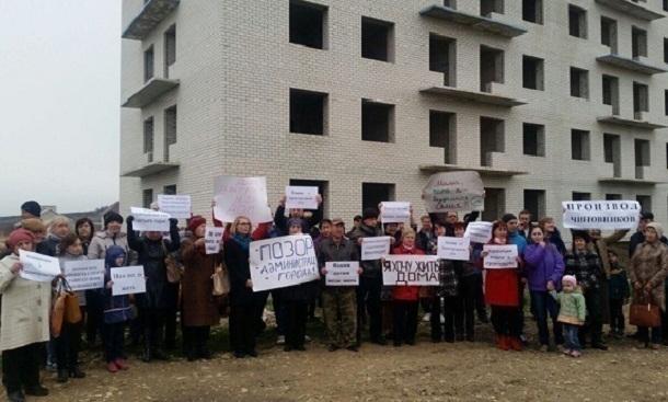 Доведенные до отчаяния члены ЖСК «Восток-7» записали обращение к администрации Ставрополя