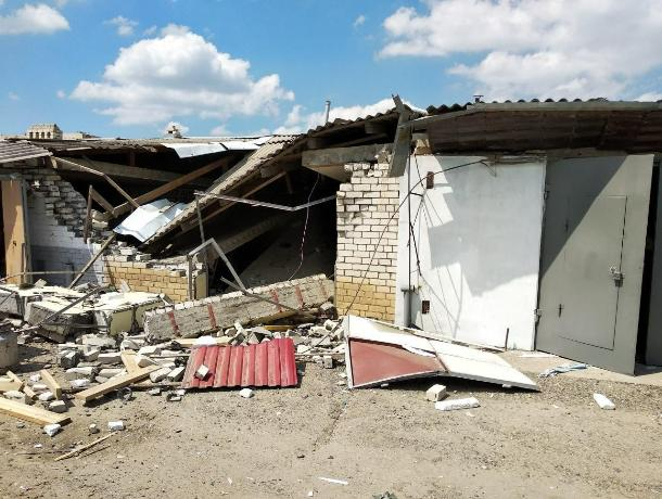 В Ставрополе взорвался гараж