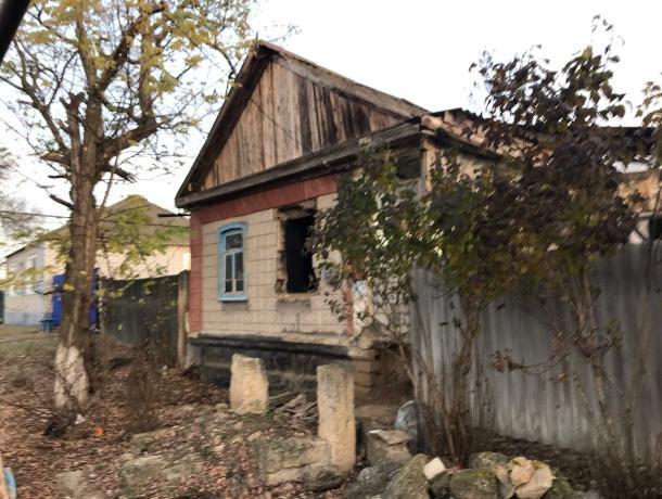 На Ставрополье в ночном пожаре сгорел человек