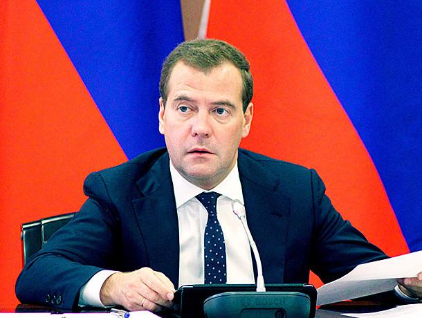 Премьер Дмитрий Медведев премировал Ставрополье за эффективное управление деньгами