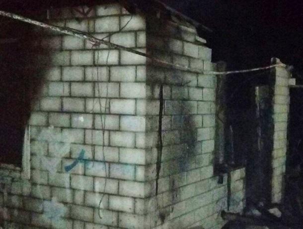 Страшный пожар в частном доме унес жизнь одного человека на Ставрополье