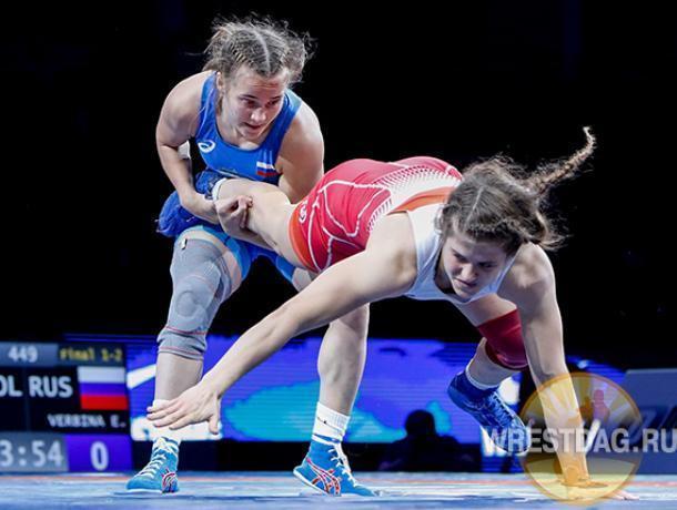 Ставропольчанка выиграла «серебро» на первенстве мира по вольной борьбе