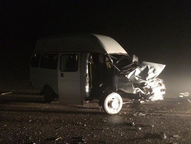 НаСтаврополье шесть человек пострадали при столкновении автобусов