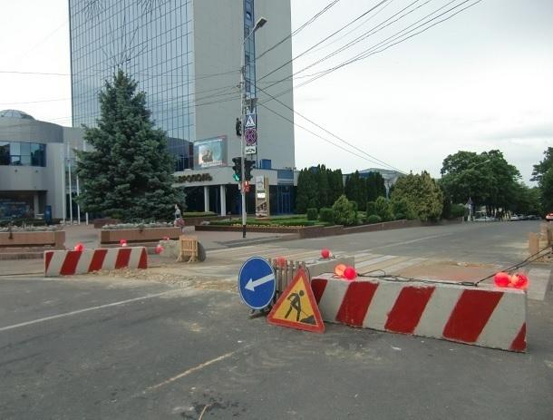 Три центральные улицы перекроют из-за ремонта водопровода в Ставрополе