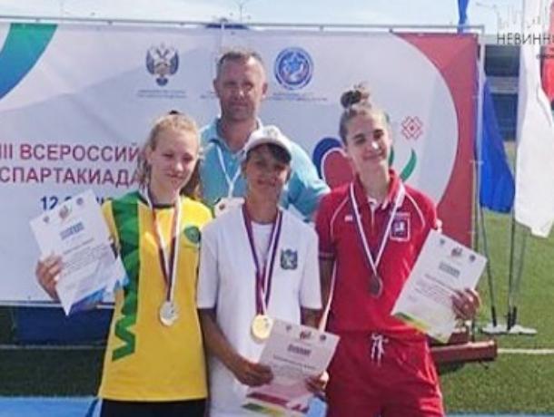 Ставропольская спортсменка взяла золото на всероссийской спартакиаде среди инвалидов