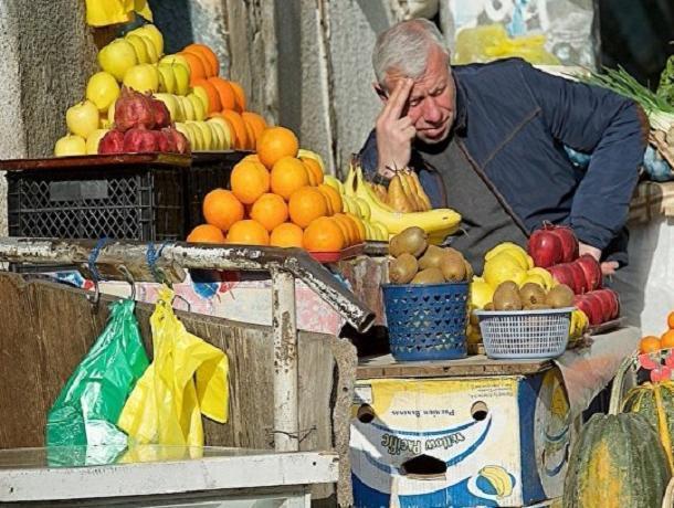 Неофициальная забастовка торговцев фруктами в Ессентуках продолжается