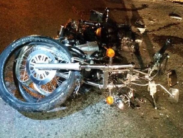 ВЕссентуках при столкновении слегковушкой умер мотоциклист