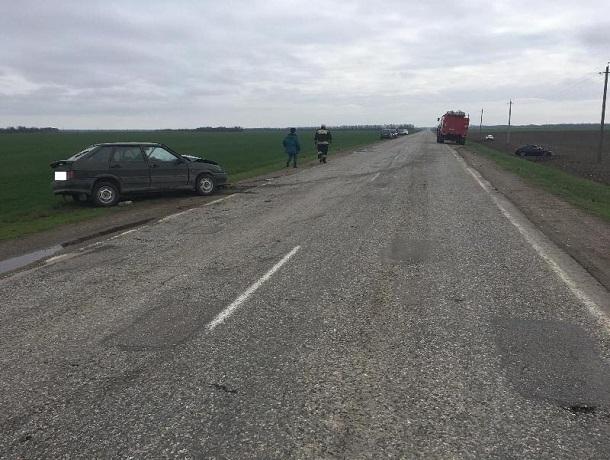 НаСтаврополье втройном ДТП пострадали два водителя