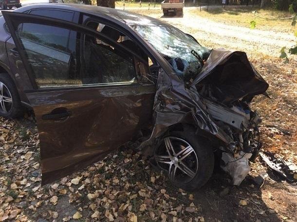 Водитель «Фольксвагена» погиб и трое ранены в страшном ДТП под Ставрополем
