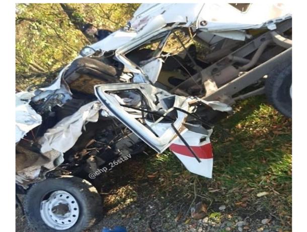 Разбившийся на Ставрополье водитель скорой умер еще до аварии