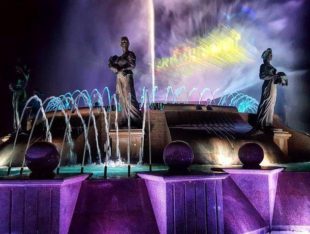 До какого числа проработает светомузыкальный фонтан, рассказали жителям Ставрополя