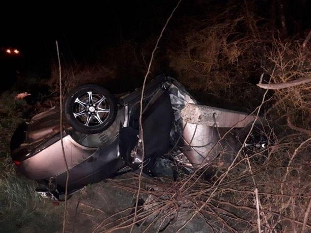Натрассе вАлександровском районе разбилась Лада Priora: погибла женщина-водитель