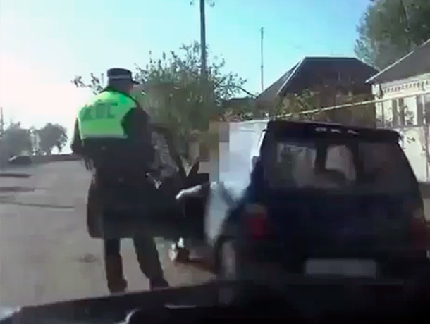 Пьяный угонщик взял чужой автомобиль покататься на Ставрополье