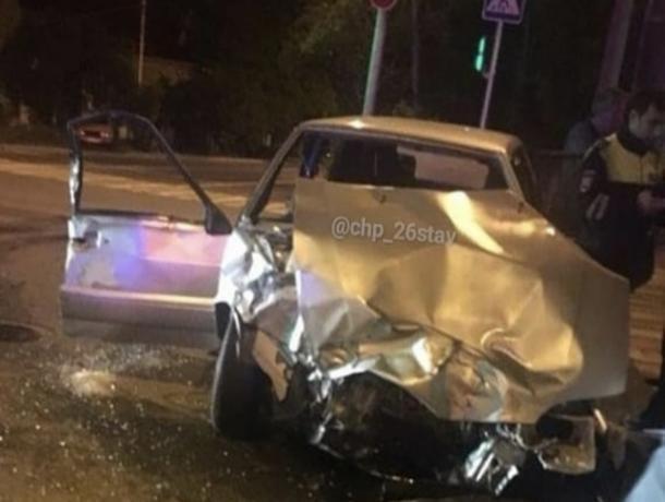 В Ставрополе четверо пострадали в аварии