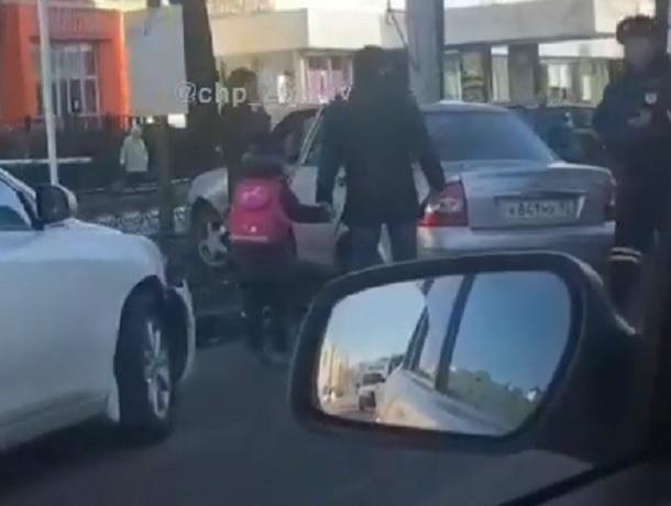 ДТП с двумя «легковушками» произошло на центральной улице Ставрополя