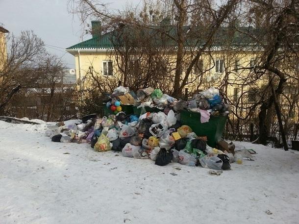 На плохую работу оператора по вывозу мусора пожаловались жители Ставрополя