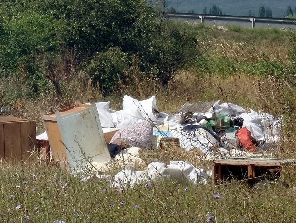 Власти упорно игнорируют безобразную свалку в санитарной зоне федерального курорта на Кавминводах