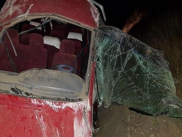 НаСтаврополье опрокинулся микроавтобус спассажирами— вДТП большое количество пострадавших