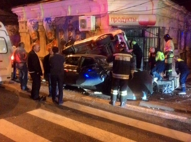 Трое пострадали втройном ДТП вцентре Ставрополя