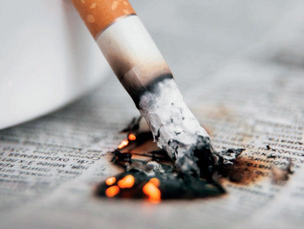 Житель Минвод чуть не умер по вине непотушенной сигареты
