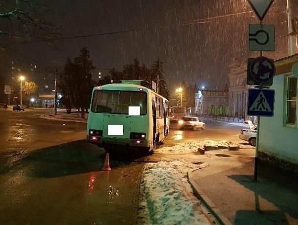 ВСтаврополе женщина пострадала при стремительном торможении автобуса